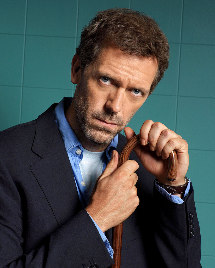 Dr. House and Cane